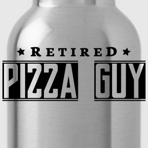 retired pizza guy - Water Bottle