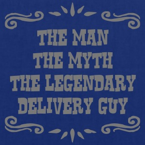 delivery guy the man myth legendary lege - Tote Bag