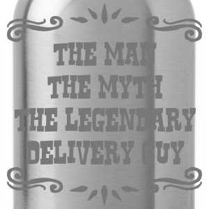 delivery guy the man myth legendary lege - Water Bottle