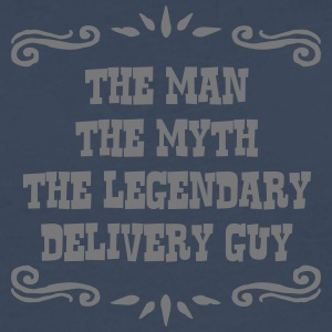 delivery guy the man myth legendary lege - Men's Premium Longsleeve Shirt