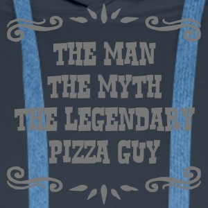 pizza guy the man myth legendary legend - Men's Premium Hoodie