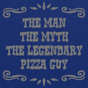 pizza guy the man myth legendary legend - Tote Bag