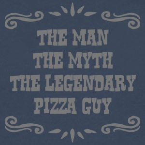 pizza guy the man myth legendary legend - Men's Premium Longsleeve Shirt