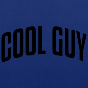 cool guy stylish arched text logo - Tote Bag