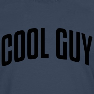 cool guy stylish arched text logo - Men's Premium Longsleeve Shirt