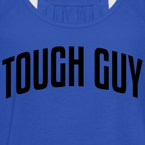 tough guy stylish arched text logo - Women's Tank Top by Bella