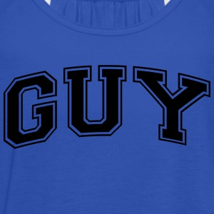 guy name arched college style text - Débardeur Femme marque Bella