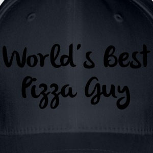 worlds best pizza guy - Casquette Flexfit