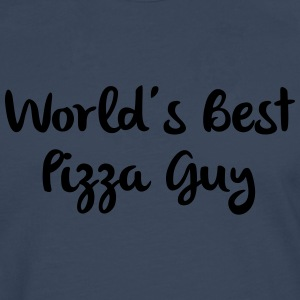 worlds best pizza guy - T-shirt manches longues Premium Homme