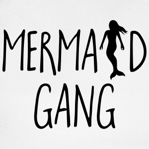 Mermaid Gang Funny Quote Grembiuli - Cappello con visiera