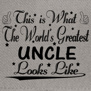 World's Greatest Uncle... Hoodies & Sweatshirts - Snapback Cap