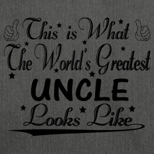 World's Greatest Uncle... Hoodies & Sweatshirts - Shoulder Bag made from recycled material