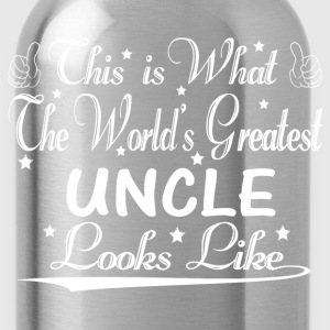 World's Greatest Uncle... T-Shirts - Water Bottle