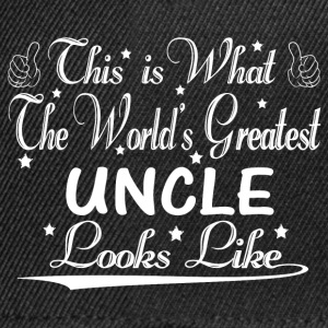 World's Greatest Uncle... T-Shirts - Snapback Cap