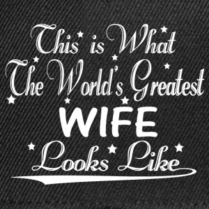 World's Greatest Wife... T-Shirts - Snapback Cap