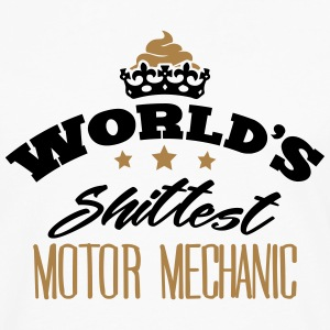 worlds shittest motor mechanic - Men's Premium Longsleeve Shirt