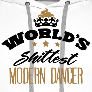 worlds shittest modern dancer - Men's Premium Hoodie