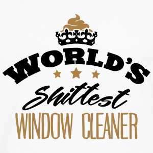 worlds shittest window cleaner - Men's Premium Longsleeve Shirt