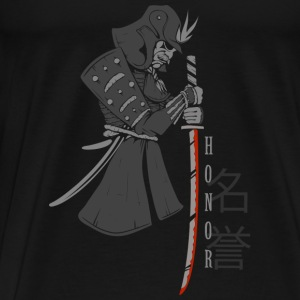 Samurai(PNG) Sports wear - Men's Premium T-Shirt