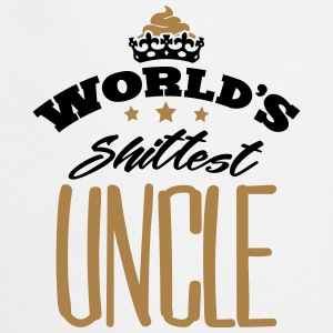 worlds shittest uncle - Cooking Apron