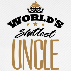 worlds shittest uncle - Baseball Cap