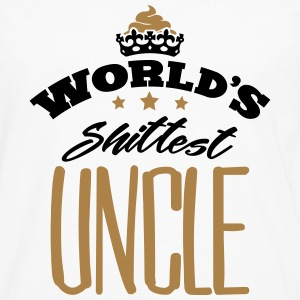 worlds shittest uncle - Men's Premium Longsleeve Shirt