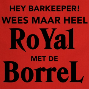 Royal met de Borrel T-shirts - Keukenschort