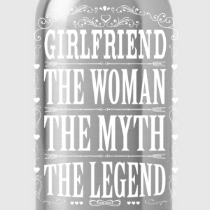 Girlfriend The Legend... T-Shirts - Water Bottle