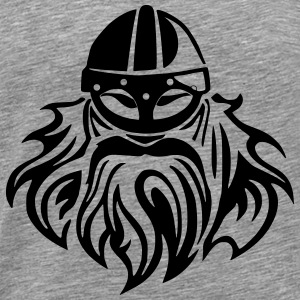 viking face Hoodies & Sweatshirts - Men's Premium T-Shirt