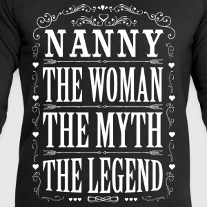 Nanny The Legend... T-Shirts - Men's Sweatshirt by Stanley & Stella