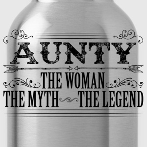 Aunty The Legend... T-Shirts - Water Bottle
