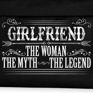 Girlfriend The Legend... T-Shirts - Kids' Backpack