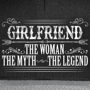 Girlfriend The Legend... T-Shirts - Snapback Cap