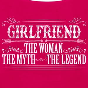 Girlfriend The Legend... T-Shirts - Women's Premium Tank Top