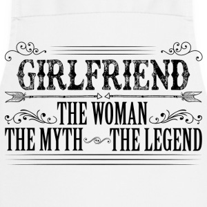 Girlfriend The Legend... T-Shirts - Cooking Apron