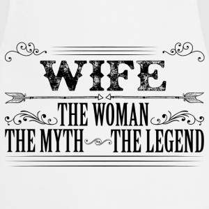 Wife The Legend... T-Shirts - Cooking Apron