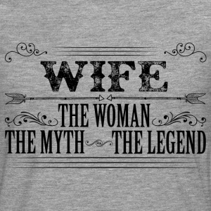 Wife The Legend... T-Shirts - Men's Premium Longsleeve Shirt