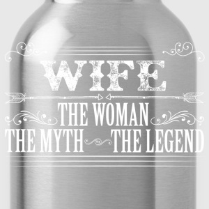Wife The Legend... T-Shirts - Water Bottle
