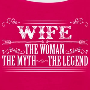 Wife The Legend... T-Shirts - Women's Premium Tank Top