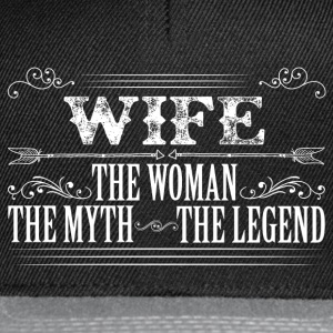 Wife The Legend... T-Shirts - Snapback Cap