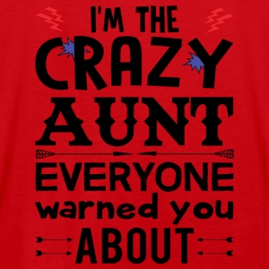 I am the Crazy Aunt!! Hoodies & Sweatshirts - Men's Premium Tank Top