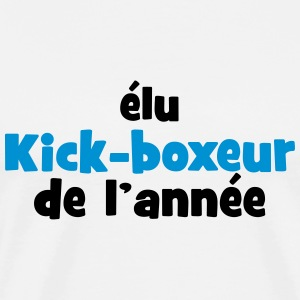 Kickboxing / Kick-Boxeur / Kick Boxing / Kick-Boxing Tabliers - T-shirt Premium Homme