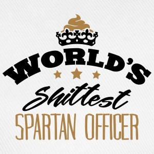 worlds shittest spartan officer - Baseball Cap