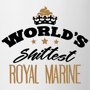 worlds shittest royal marine - Mug