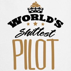 worlds shittest pilot - Cooking Apron