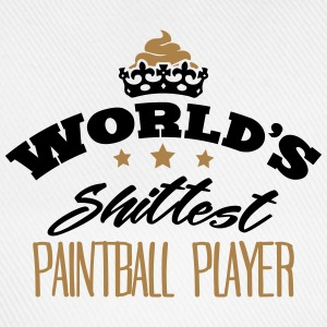 worlds shittest paintball player - Baseball Cap