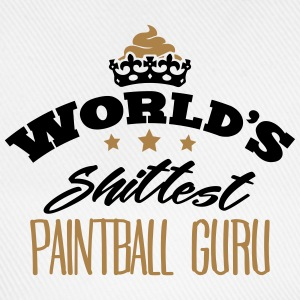 worlds shittest paintball guru - Baseball Cap