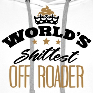 worlds shittest off roader - Men's Premium Hoodie