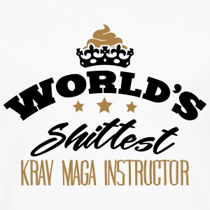 worlds shittest krav maga instructor - Men's Premium Longsleeve Shirt