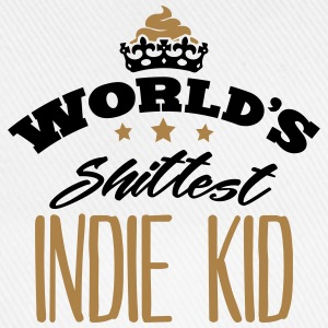 worlds shittest indie kid - Baseball Cap